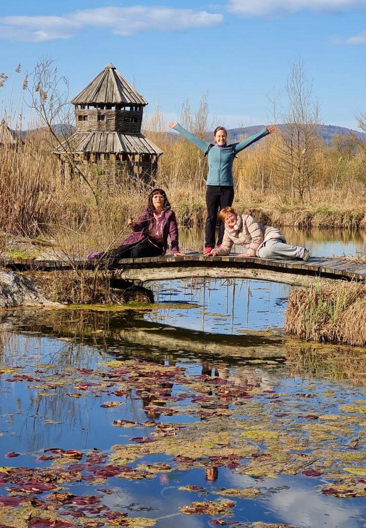 Vodnice Mojca, Ana in Marija